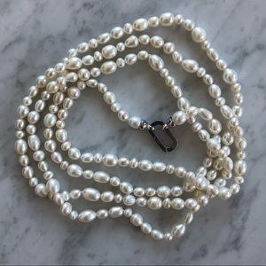 """60"""" Cultured Pearl Necklace"""